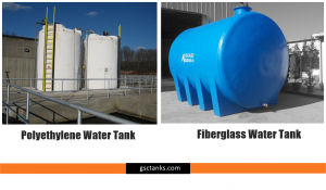 How Fiberglass and Polyethylene Water Tanks Differ