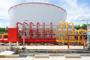 Storage Tank Fire Protection System