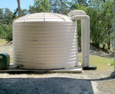 How to Install a Fiberglass Water Storage Tank?